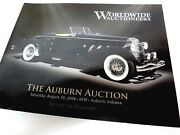 World Wide Auctioneers 2008 Collector Car The Auburn Auction Catalog Event Guide