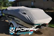 1997-2004 Challenger 1800 Seadoo Boat Cover Fitted New Trailerable Grey