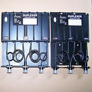 Duplexer 200-280mhz Vhf 6 Cavity Sq 50w For Radio Repeater N Connector