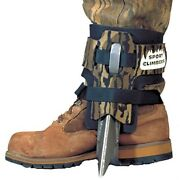 Steel Spur Tree Climbing Spikes/shoes Straps Pair Forestry Treestand Hunting