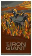 The Iron Giant By Laurent Durieux - Rare Sold Out Mondo Print