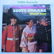 Band Of The Scots Guards - World Tour - Excellent Con Lp Record Philips 6308 068