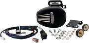 Jims Black Force Flow Air Cleaner Cooling Fan For 17-18 Harley Touring M8 Flhx