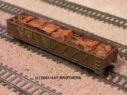Hay Brothers Crushed Autos And Scrap Load - Fits Walthers 40and039 Composite Gondolas