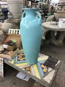 Large Pacific Pottery Floor Vase California