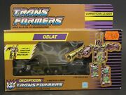 1990 Transformers G1 Combaticon Onslaught In Euro Classic Sealed Golden Box Vhtf