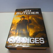 Jim Butcher Changes A Novel Of The Dresden Files Hardcover