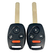 2 New Replacement Keyless Entry Remote Key Fobs 4button Honda Kr55wk49308