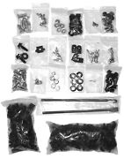 1965 1966 Ford Mustang Under Hood And Trunk Bolt And Nut Kit 343 Items 65-20910