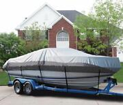 Great Boat Cover Fits Wellcraft 210 Sportsman Pulpit Bow Rails 21and0399 L O/b 99-04