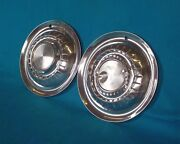 1955 Plymouth Wheel Cover Hubcap 15 Used Oem 1 Pair Muscle Car Hot Rod Rat Rod