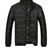 Jackets And Coats Patchwork Outer Wear Winter Fashion Male Clothing With Pockets