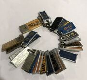 New York Old License Plate Mini Tags Keychain Vintage Car Craft Auto 27 Tags