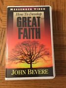 How To Develop Great Faith Vhs