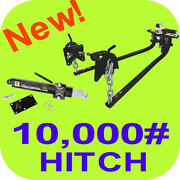 10000 Weight Distribution Hitch Tow Bar 2 5/16 Camper Trailer W/ Sway Control
