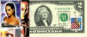 2 Dollars 2013 Star Stamp Cancel Movies Star Angelina Jolie Value 500