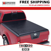 Truxedo Edge Tonneau Cover Roll Up Fit 16-18 Nissan Titan 8and039 Bed