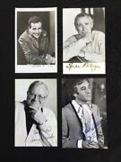 The Goons Autographed Postcards All Four V Rare Milligan Sellers Secombe Bentine