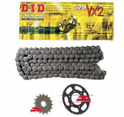 Suzuki Lt250 R- F,g,h,j,k,l Quadracer 85-90 Did Vx2 X-ring Chain And Sprocket Kit