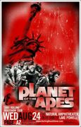 Planet Of The Apes By Bobby Dixon - Rare Sold Out Mondo Print