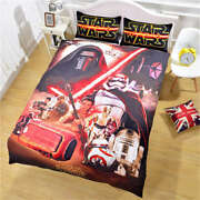 Red Buses Without Wheels 3d Digital Print Bedding Duvet Quilt Cover Pillowcase
