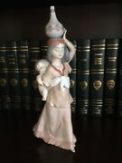 Lladro Porcelain Rare Figurine 6423 Precious Papoose Retired Mint Collectible