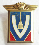 Carrozzeria Vignale Emblem With Crown Badge Metal Fiat Ferrari Maserati