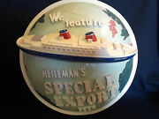 Old Vintage Rare Heilemanand039s Special Export Beer Advertising Chalk Sign Chicago