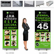 It Works Global Wraps Retractable Banner 7ft Tall Spanish 2 Banners