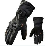 Motorcycle Mthermal Winter Riding Gloves Warmwaterpoofwindproof Touchscreen