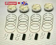 Yamaha R1 - Yzf1000 2004 - 2006 78.00mm Over Bore Wossner Racing Piston Set X4