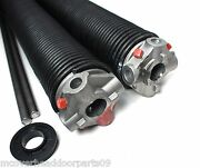 Garage Door Torsion Springs Pair .225 X 2 5/8 Id X Select Length - With Options