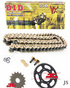 Fits Honda Cb550 F1f2k1k2k3 1975-80 Did Gold Vx X-ring Chain And Sprocket Kit