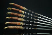 Author's Handmade Barbecue Skewers Kebab Skewers For Grill Meat Bear Grizzly