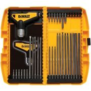 31-piece Ratcheting T-handle Hex Key Setno Dwht70265 Stanley Consumer Tools