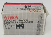 Vintage Aiwa Tp-m9 Micro Cassette Voice Recorder Discontinued Collectible