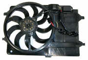 Auxiliary Cooling Fan Bmw Mini Cooper 01-03 New Blade