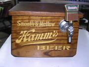 Vintage Hammand039s Smooth And Mellow Beer Oak Wooden Jockey Box One Of A Kind