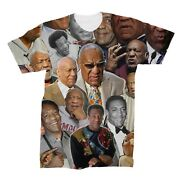Bill Cosby Photo Collage T-shirt