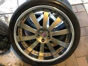 22 Hre Wheels W Tires For Range Rover Or X5