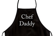 Funny Apron For Dad Chef Daddy Novelty Aprons For Men
