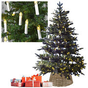 30 Or 50 Warm White Led Clip On Candle Christmas Tree Indoor Fairy String Lights