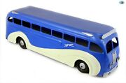 Awesome Vintage Large Restored Keene N.h Station - U.s.a Greyhound Bus Toy