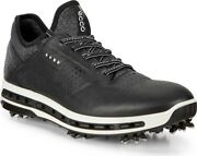 Ecco Cool 18 Gore-tex Golf Sneaker Men's Shoes In Black Leather - New