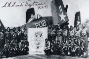 Stanley Vejtasa 3 Navy Cross Wwii Double Ace 11 2nd Highest Medal Signed Photo