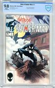Web Of Spider-man 1 Cbcs 9.8 Nmmt  White Pages  4/85 Charles Vess Cover