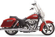 Bassani 2-1 Chrome 4 Road Rage Exhaust For 12-16 Harley Dyna Switchback Fld
