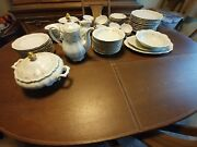 Set Of Mitterteich Lady Patricia China Bavaria, Germany 93 Pieces