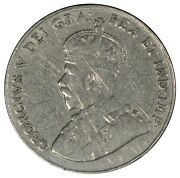 1926 Far Canada 5 Cent Nickel - Iccs F15 Scratches - See Photos