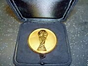 Fifa World Cup 1978 Official Brazilian 3 Rd Place Commemorative Medal